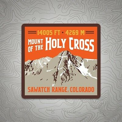 Mount of the Holy Cross Colorado 14er Mountain Decal Sticker