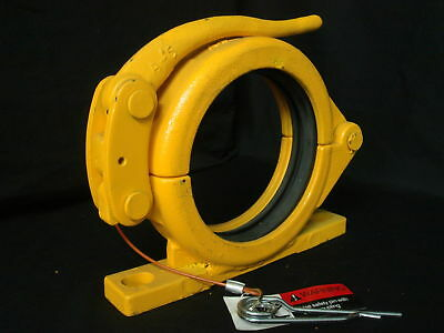 "5"" Fixed Snap Clamp for Concrete Pumps"