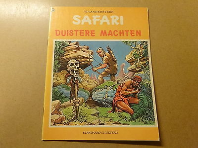 STRIP / SAFARI: NR. 18: DUISTERE MACHTEN | 1ste druk