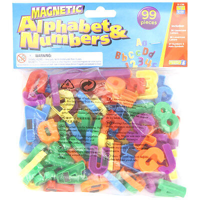 Educational Insights Magnetic Alphabet & Numbers NEW