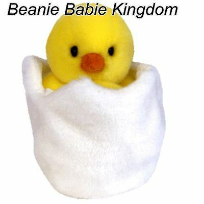 "Ty  Beanie Buddy * EGGBERT * The Baby Chick 9"" Tall 09442"