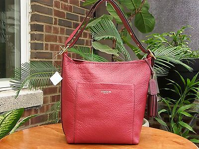 NEW. COACH  #25678 LEGACY DUFFLE IN PEBBLED LEATHER    #29.9