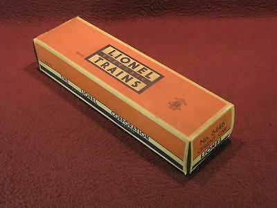 Lionel Post-War Original Box - 6446 Cement Quad Hopper Car