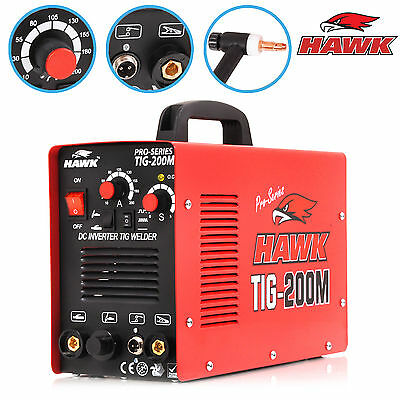 HAWK TOOLS 230v 200A 60Hz PRO GARAGE INVERTER TIG WELD WELDER WELDING MACHINE
