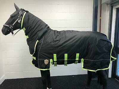 Equidor Super Heavyweight 500G Combo Turnout Horse Rug 1680 Denier Fixed Neck