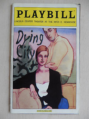 April 2007 - Mitzi E. Newhouse Theatre Playbill - Dying City - Brooksher