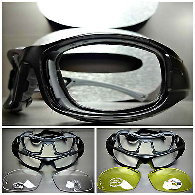 SPORT RACQUETBALL Lens or Lensless PROTECTIVE PADDED EYE GLASSES GOGGLES EYEWEAR