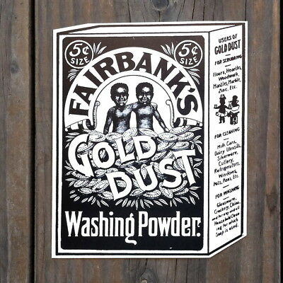 50 BULK WHOLESALE 1980s Fairbanks GOLD DUST WASHING POWDER Cardboard Sign LOT