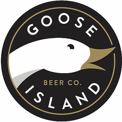 "AUTHENTIC 2014 GOOSE ISLAND Beer Co. 4"" Sticker Decal Logo 312 Bourbon County"
