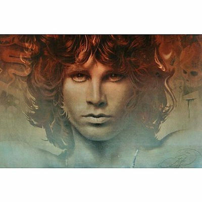 JIM MORRISON - SPIRIT PORTRAIT POSTER - 24x36 SHRINK WRAPPED - THE DOORS 2295