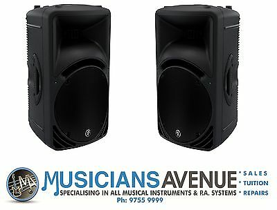 "PAIR of Mackie SRM450V3 12"" 1000w Active Speakers, Ready to ship!"