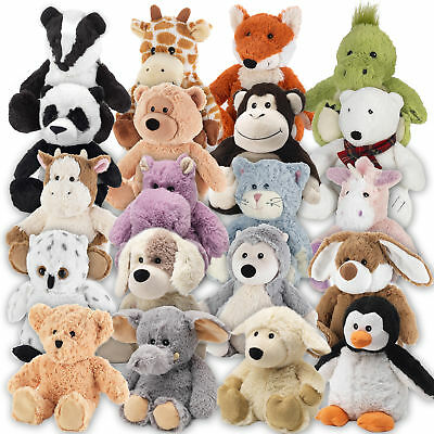 Cozy Plush Heatable Childrens Animal Microwavable Cuddly Soft Toy Warm Bedtime
