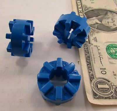 Lot 10 Orbotech Motor Coupler Spiders, Ribbed Bushing Connector Couplings 026810