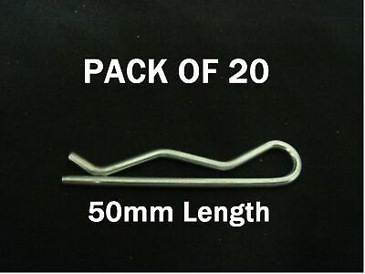 Pack of 20 – 50mm Type A Claw Locking Pin