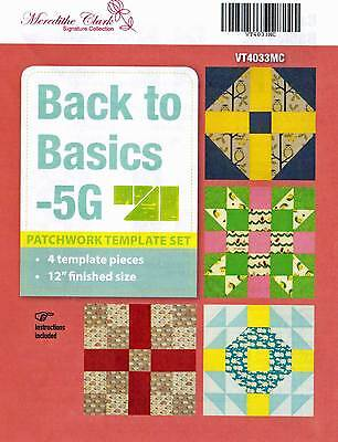 Matilda's Own Back to Basics 5Grid Patchwork Templates