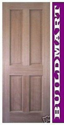 Solid Timber Maple 4 Panel House Doors Internal / External Many Sizes