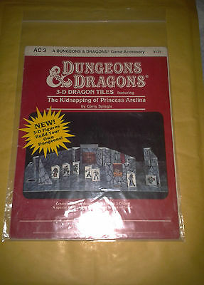 DUNGEONS & DRAGONS AC3 THE KIDNAPPING OF PRINCESS ARELINA D&D TSR