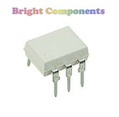 5 x 4N25 Optoisolator (Optocoupler, Isolator) - DIP/DIL6 - 1st CLASS POST