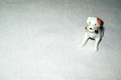Airdale Terrier Holding a Bone Mouth  Md. Japan  Excellent Condition Cute Piece