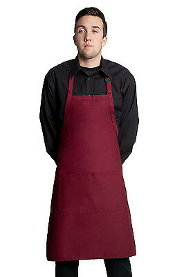 """Fiumara Apparel Butcher Apron with 2 Pockets 34"""" L x 24"""" W - Made in USA"""