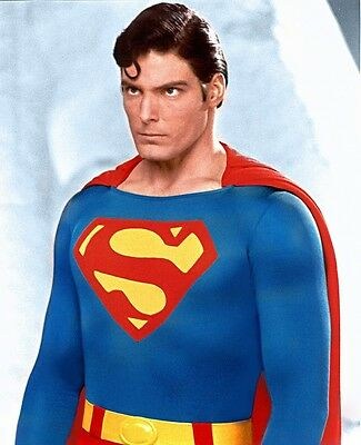 Christopher Reeve Reeves Superman 8X10 Glossy Movie Photo - Awesome!