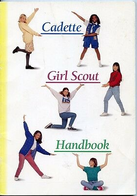 Cadette Girl Scout Handbook - 1995 - First Impression