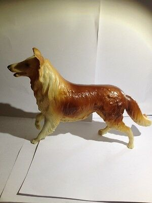 """BREYER  #65 COLLIE DOG FIGURE """"LASSIE""""   MADE FROM 1958 TO 1965"""
