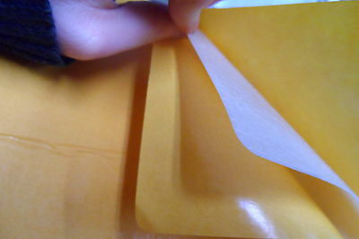 Double Sided Adhesive Mylar sheet (A4) - 214 mm x 300 mm x  0.3 mm   ART CRAFT