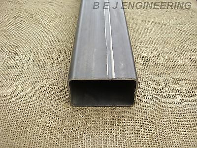 Mild Steel Box 100mm x 60mm x 3mm - 1600mm lg - Rectangular Tube
