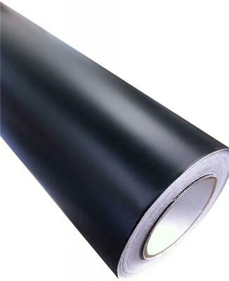 Matt Black Vinyl Car Wrap  (Air/Bubble Free) Various Sizes