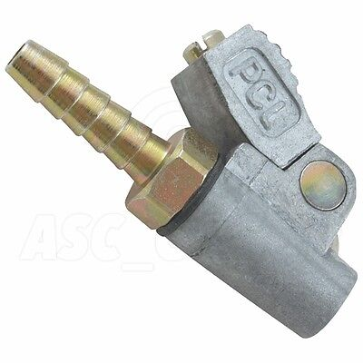 """PCL Air Tools Single Clip-on Tyre Valve Connector 1/4"""" Closed End Valve - CO2J03"""
