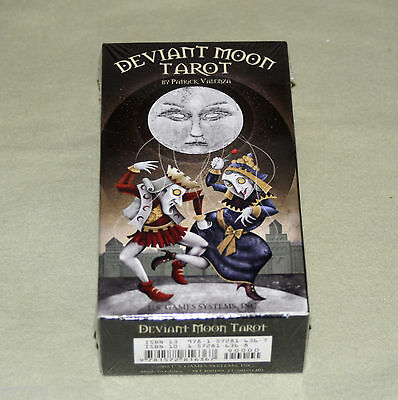 *New & Factory Sealed* Deviant Moon Tarot Card Deck by Patrick Valenza (2008)