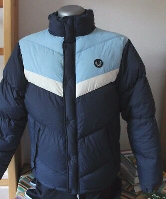 Chaqueta Fred Perry De Plumon Natural.jacket Feather, Down. Talla M. Vintage