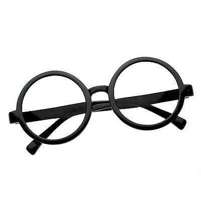2X Harry Potter Wizard Costume Cosplay Nerd Round 3D Glasses Deathly Hallows