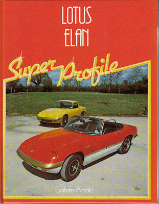 Lotus Elan Super Profile by Arnold 1982  History Evolution Specifications +