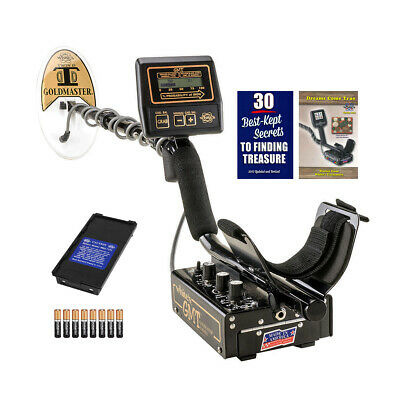 "Whites GMT Metal Detector with 6 x 9"" Waterproof Goldmaster DD Search Coil"