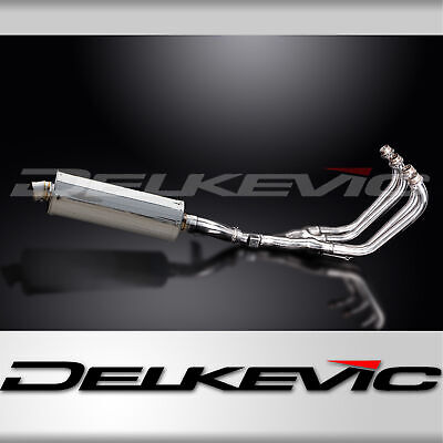YAMAHA XJ600 DIVERSION 92-04 FULL 4-1 EXHAUST 350mm STAINLESS OVAL BSAU SILENCER