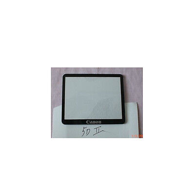 Q1 Canon EOS 5D Mark II Outer TFT LCD Screen Display Window Glass Repair +Tape
