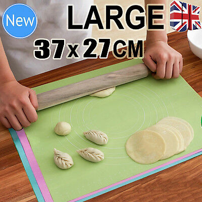 Massive Silicone Pastry Cake Decorating Mat Fondant Rolling Work Sugarcraft