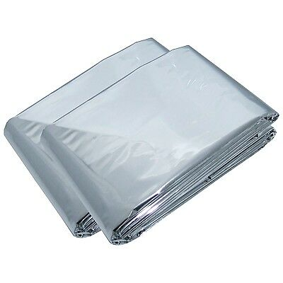 Emergency Silver Foil Survival Thermal Blanket First Aid Space Waterproof NEW