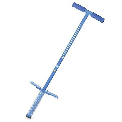 Blue Traditional Pogo Stick Childrens Kids Outdoor Jump Bounce Toy
