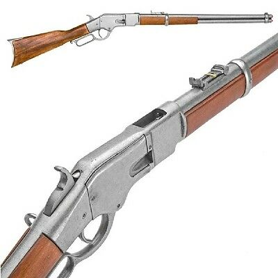 Winchester model lever-action rifle - Gray Finish