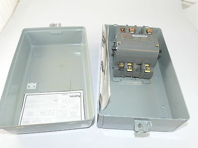 Furnas 40CP12BLD6 Lighting Contactor and Enclosure NEW