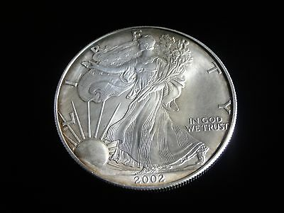 "2002 Silver Dollar ""Walking Liberty""  (.999 fine)"