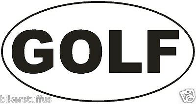 Golf Bumper Sticker Laptop Sticker Toolbox Sticker Window Sticker