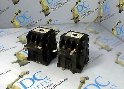 Hitachi H35 Ac Magnetic Contactor Lot Of 2