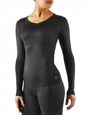 Tommie Copper Womens Recovery Compression Long Sleeve V Neck Shirt