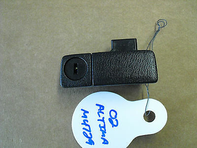 2002 - 2006 Nissan Altima Glove Box Latch Handle Glovebox Lock BLACK OEM