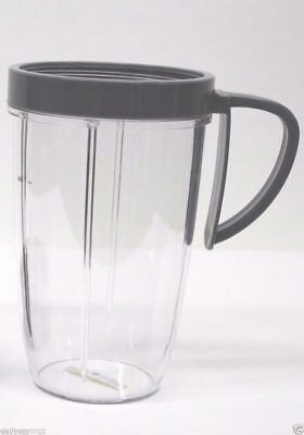 NutriBullet Nutri Bullet 24OZ 24 OZ Tall Cup Large with Handled Lip Ring, NEW