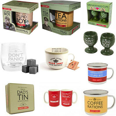 Official DADS ARMY Full Range of Novelty All Occasions Birthday Christmas Gift